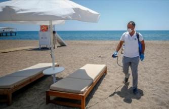 Ukrayna medyasından Türkiye'nin tatil beldelerindeki Kovid-19 önlemlerine 'tam not'