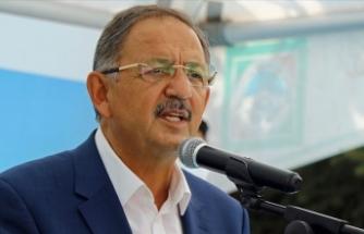 Özhaseki, AK Parti Yerel Yönetimler Başkanlığı İstişare Toplantısı'nda konuştu: