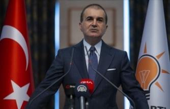 AK Parti Sözcüsü Çelik: AB Yunanistan'ın tüm Avrupa'yı Yunan tiyatrosu'na çevirmesine izin vermemeli