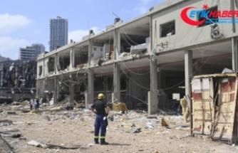 Beyrut enkaz şehre dönüştü