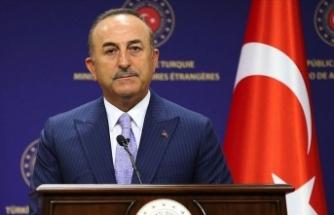 Dışişleri Bakanı Çavuşoğlu: Doğu Akdeniz'de hem Türkiye'nin hem de Kıbrıs Türklerinin haklarını sonuna kadar savunacağız