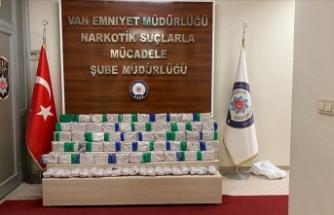 Van'da 61 kilo 495 gram eroin ele geçirildi