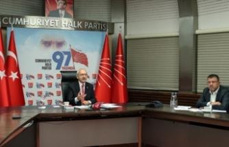 CHP Genel Başkanı Kılıçdaroğlu: Esnafların kendi içinde dayanışması lazım