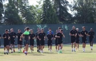 Denizlisporlu oyuncular Beşiktaş maçında puan için umutlu