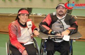 Engelli sporcu çift Tokyo Paralimpik Oyunları'na birlikte hazırlanıyor