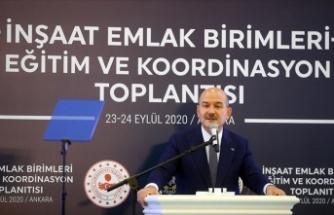 İçişleri Bakanı Soylu: Şehirlerin kimliğiyle ters düşmeyecek binalar yaptık
