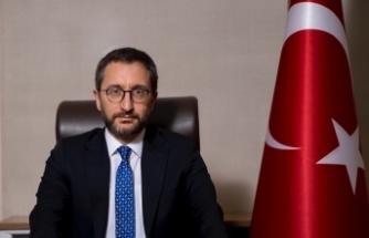 İletişim Başkanı Altun'dan Yunan mevkidaşına kınama mektubu