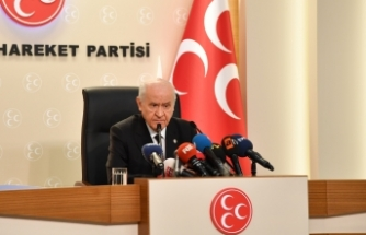 MHP Lideri Bahçeli: Türk Tabipleri Birliği yeni tip Koronavirüs kadar tehlikelidir. Ve gereği acilen yapılmalıdır