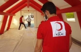 Türk Kızılay, Kıbrıs Türk halkının yanında olmaya devam ediyor