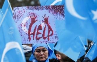 Uygur aktivist Abdulreşit BM'de konuştu: Halkıma karşı işlenen bir soykırım var
