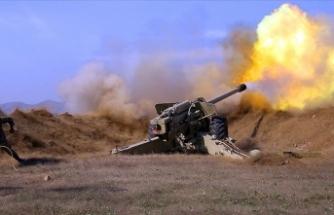 Azerbaycan topraklarını kurtarmak için başlattığı operasyonlarda Ermenistan'a karşı üstünlüğünü sürdürüyor