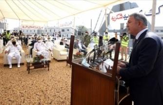 Bakan Akar: Türk milletini yalnız bırakmayan Pakistanlı kardeşlerimizin fedakarlıklarını asla unutmayacağız