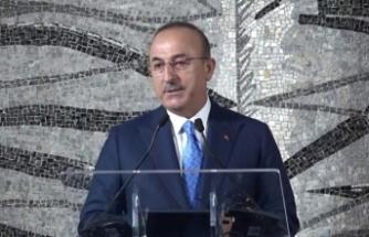 """Dışişleri Bakanı Çavuşoğlu: """"Ersin Tatar'ı gönülden kutluyoruz"""""""