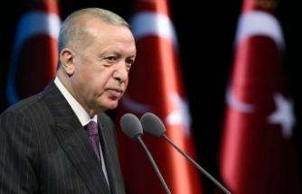 Cumhurbaşkanı Erdoğan, Bakan Soylu ile bir araya gelen muhtarlara seslendi: