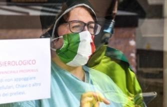 İtalya'da 19 bin 143 ile en yüksek günlük Kovid-19 vaka sayısı açıklandı