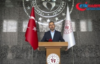 Kasapoğlu: Gençlik kamplarının kapılarını sağlık çalışanları ve ailelerine açtık