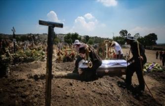 Kovid-19 salgınında son 24 saatte Hindistan'da 1181, Brezilya'da 1031, Meksika'da 483 kişi öldü