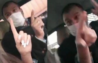 Müşteriyi 'Seni gebertirim kadın' diye tehdit eden taksicinin ruhsatı iptal edildi