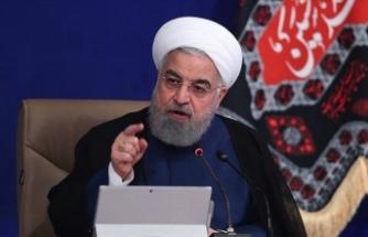 """İran Cumhurbaşkanı Ruhani: """"ABD ile sorunların çözümü çok kolay"""""""