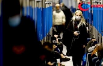 Rusya'da son 24 saatte 17 bin 717 yeni Kovid-19 vakasına rastlandı