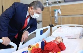 Sağlık Bakanı Fahrettin Koca Bursa Şehir Hastanesi'ni ziyaret etti