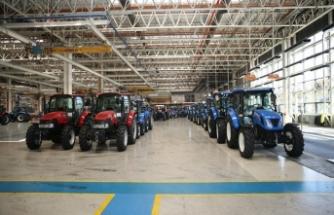 Traktör ihracatında artış gözlemlendi