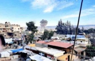 Afrin'de bomba yüklü araç patladı : 3 ölü