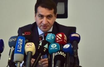 Azerbaycan Cumhurbaşkanı Yardımcısı Hacıyev'den Fransa'ya sert tepki