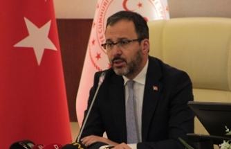 """Bakan Kasapoğlu: """"Maşallah sana İrfan Can"""""""