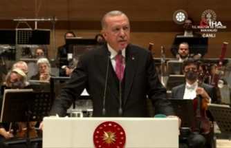 """Cumhurbaşkanı Erdoğan: """"Jakoben zihniyetten Türk müziği de nasibini aldı"""""""