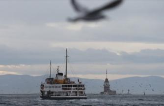 Marmara Bölgesi'nde çok bulutlu hava bekleniyor