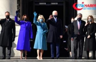 ABD'nin 46. başkanı seçilen Joe Biden için Beyaz Saray'da yemin töreni düzenleniyor