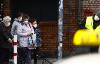 Almanya'da son 24 saatte 982 kişi Kovid-19'dan hayatını kaybetti