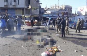 Bağdat'ın merkezinde patlama: 28 ölü
