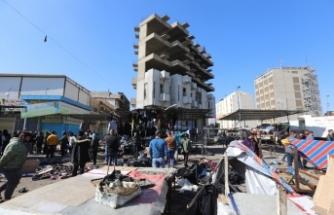 Bağdat'taki çifte intihar saldırısını DEAŞ üstlendi