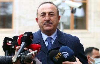 Bakan Çavuşoğlu: Gine Körfezi'nde kaçırılan gemi mürettebatıyla ilgili korsanlar henüz hiç kimseyle temasa geçmedi
