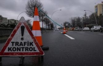 Başkent sokakları kısıtlamada sessizliğe büründü