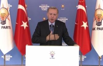 """Cumhurbaşkanı Erdoğan: """"Bunun adı beşinci kol faaliyetidir"""""""