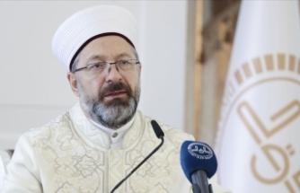 Diyanet İşleri Başkanı Erbaş Danimarka'daki camiye yapılan saldırıyı kınadı