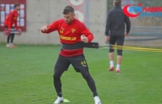 Göztepe'de Burak Süleyman eski takımı Kocaelispor'a kiralandı