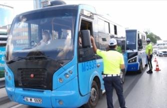 Ankara'da son bir haftada sokağa çıkma kısıtlamasına uymayan 1315 kişi hakkında işlem yapıldı
