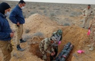 Libya'da mühimmat, mayın ve el yapımı patlayıcıların imhasına devam ediliyor