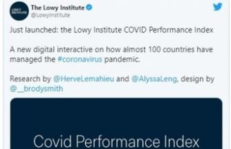 """Lowy Enstitüsü: """"Salgında süreci en iyi yöneten Yeni Zelanda, en kötü yöneten Brezilya oldu"""""""