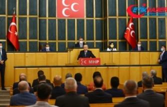 MHP Lideri Bahçeli: HDP demek kundağa sarılı bebeklerimize ölüm demektir