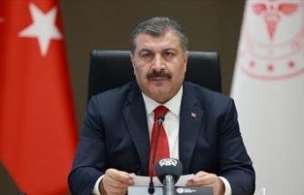 Sağlık Bakanı Koca: Sağlık ordumuzun inanç ve azmi güven veriyor