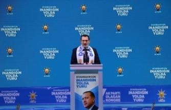 AK Parti Genel Başkan Yardımcıları Yavuz ve Usta, partilerinin Diyarbakır 7. Olağan İl Kongresi'ne katıldı