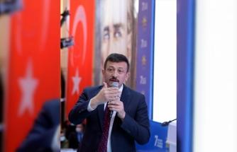 AK Parti Genel Başkan Yardımcısı Dağ, partisinin Ardahan kongresinde konuştu: