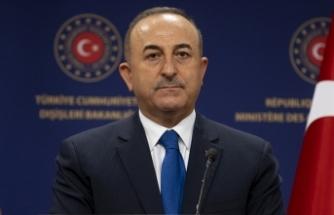 Dışişleri Bakanı Çavuşoğlu, Türkmenistan'daki temaslarının ardından basını bilgilendirdi: