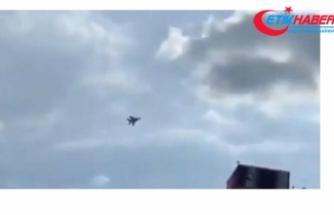 Karşıt grupların birbirine girdiği Erivan semalarında savaş jetleri uçmaya başladı