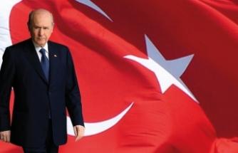 MHP Lideri Bahçeli'den şehitlerimiz için başsağlığı mesajı